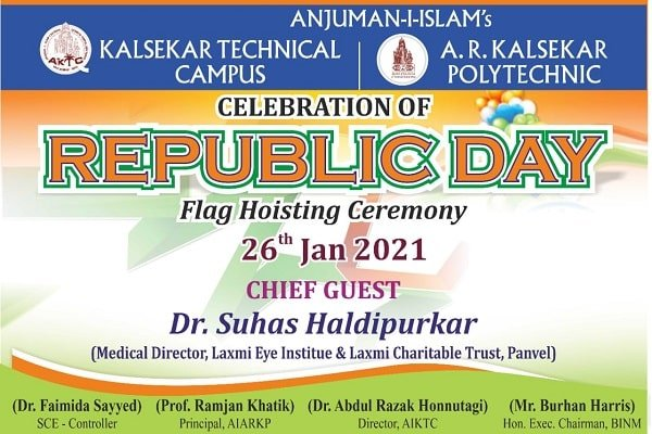 CELEBRATING 72th REPUBLIC DAY