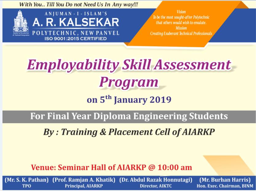 Employability Skill Assessment Program
