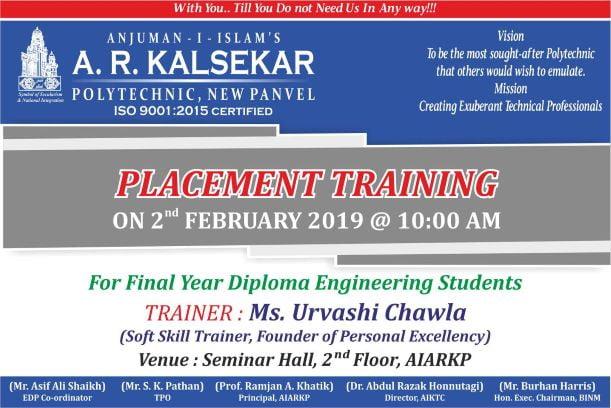 Placement training Program