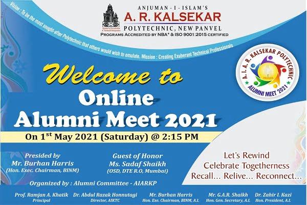 Online Alumni Meet 2021