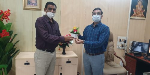 Meeting with Dr.Abhay Wagh (Director,DTE,Mumbai)